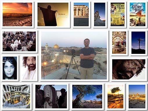 Dortch traveled throughout Israel shooting epic time-lapses for the award winning BBC production