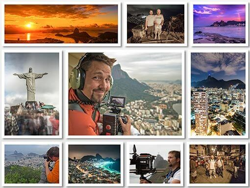 Chris Dortch is the director and cinematographer of a project cofunded by Bruno Wu and LG Electronics. Dortch shot ultra hd footage in Rio Brazil for the Rio Olympic games